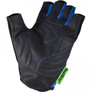 Fingerless-Cycle-Gloves-Blue_LEFT-PALM-800x800