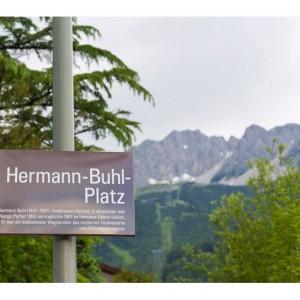 Hermann Buhl platz