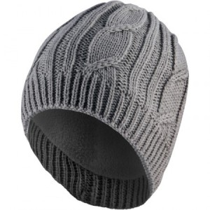 Cable-Knit-Beanie-Grey